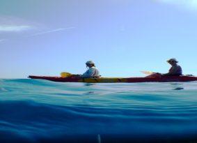 kayak Trogir Croatia Blue Lagoon a nice photo