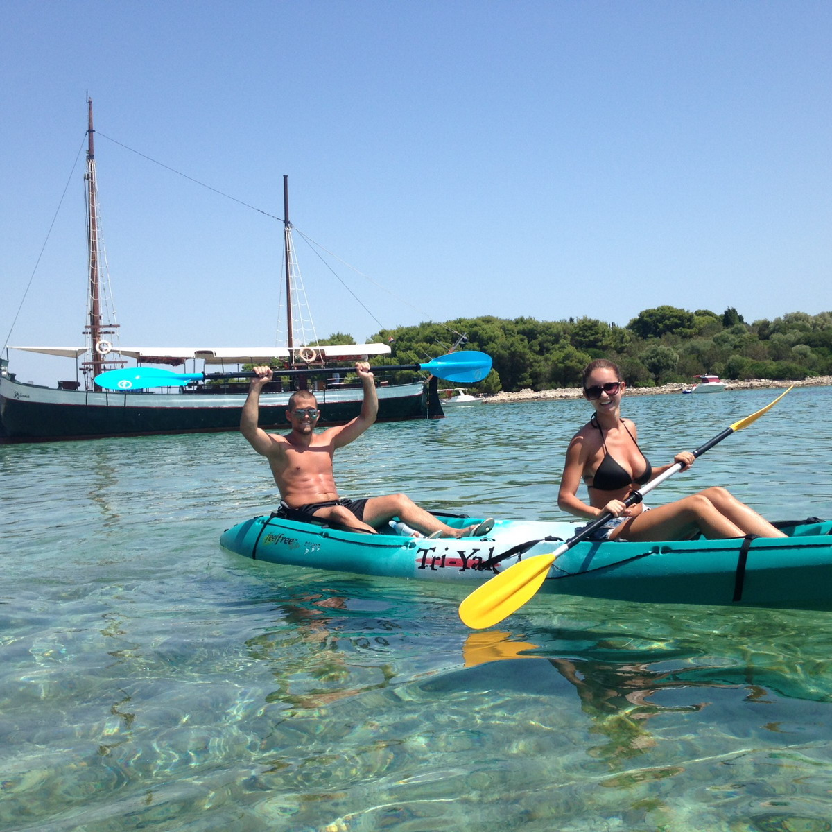 Kayak Adventure To The Blue Lagoon In Trogir Croatia