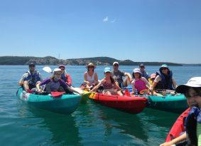 Sea Kayak around Trogir