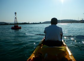 Kayaking to Trogir