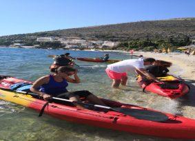 Sea kayaking Start Trogir Croatia