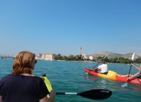 Sea Kayak around Trogir
