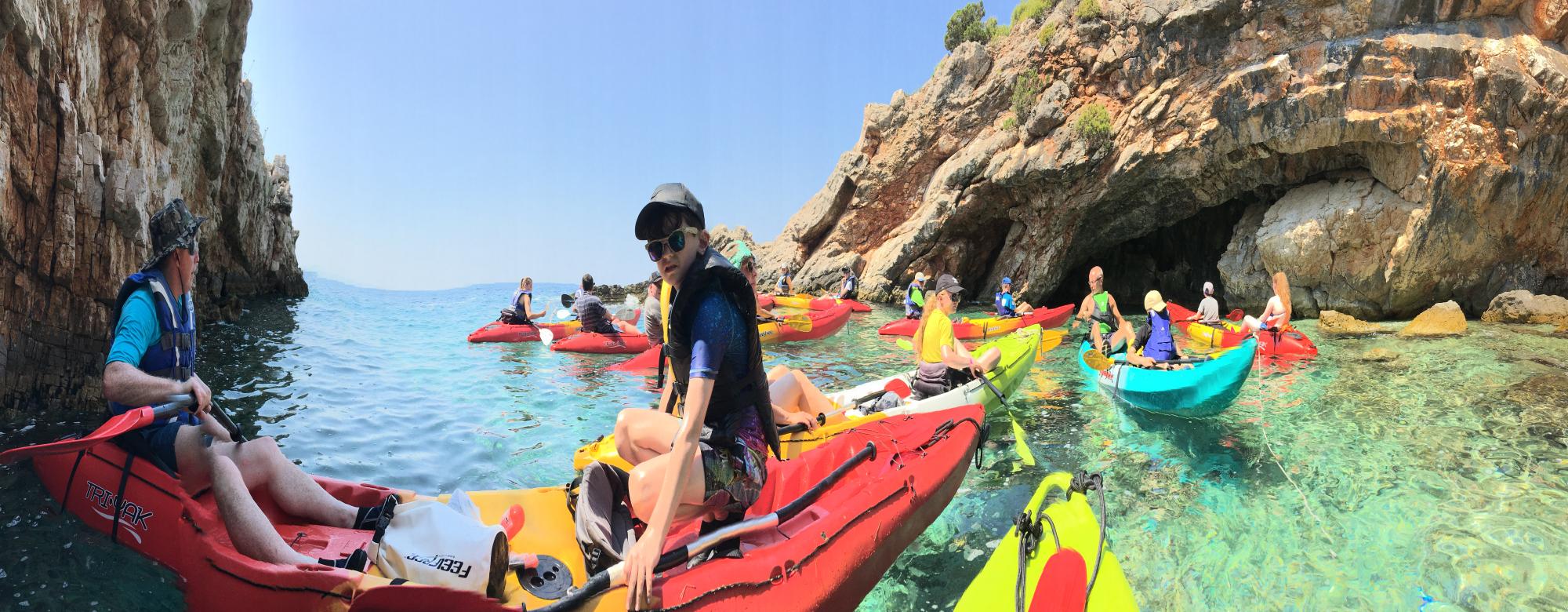 Trogir Sea Kayaking - the best sea adventure in Trogir Croatia