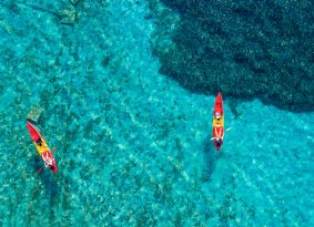 Croatia-sea-kayak-at-blue-lagoon